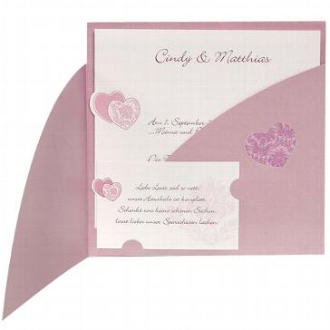 """Hochzeitseinladung """"Vivian"""" - Innenkarte"""