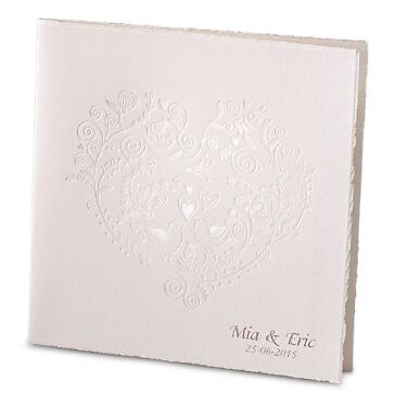 """Hochzeitseinladungskarte """"Alba"""""""