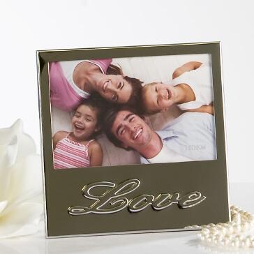 """Hochzeitsgeschenk Bilderrahmen """"Love"""""""