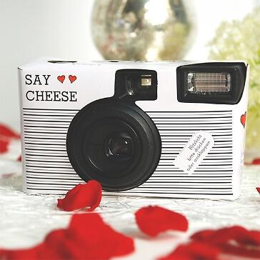 Hochzeitskamera für Schnappschüsse zur Hochzeit