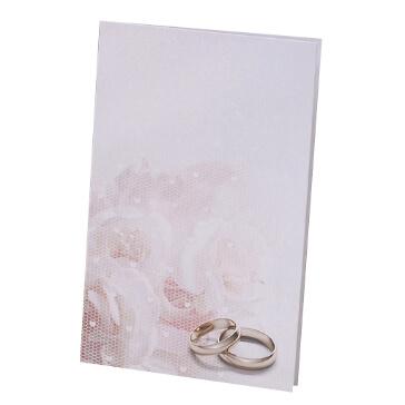 Hochzeitskarte Kylie als Kirchenheft zur Hochzeit