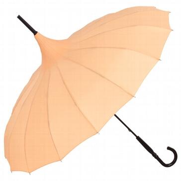 Hochzeitsschirm Jane, apricot - Frisches Design