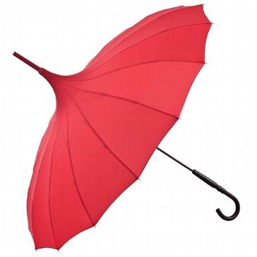 """Hochzeitsschirm """"Jane"""" , rot - Sonnenschirm für die Hochzeit"""