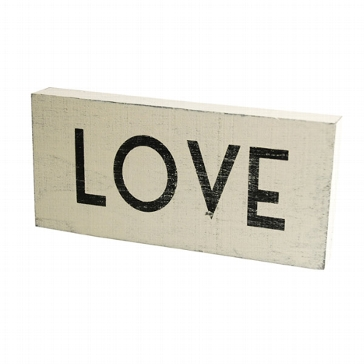 """Großes Holzschild """"Love"""" zur Hochzeit"""