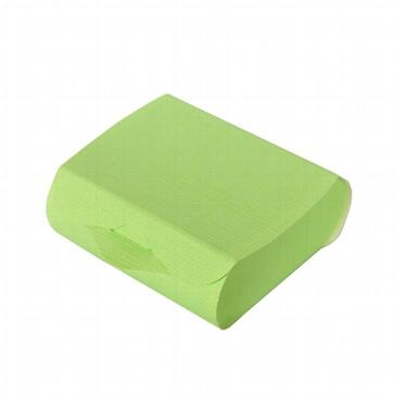 Kartonage Couvette, lindgrün