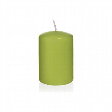 Kerze Farbenfroh, klein, grün