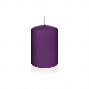 Kerze Farbenfroh, klein, lila