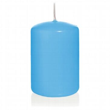 Kerze Farbenfroh, gross, hellblau