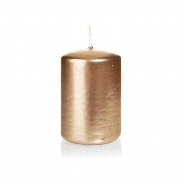 Kerze Kreativ, klein, bronze