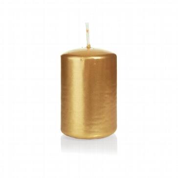 Kerze Kreativ, klein, gold