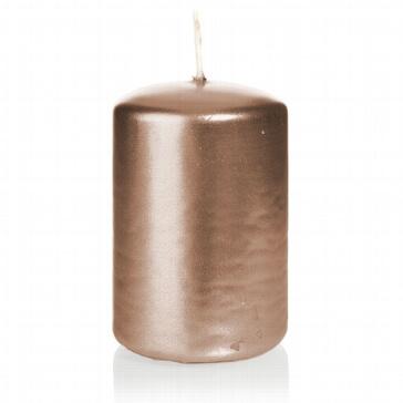 Kerzenstumpen Kreativ, bronze