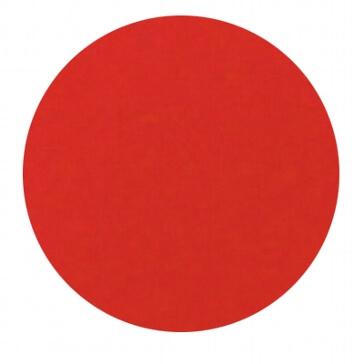 Konfetti Kreis in Rot