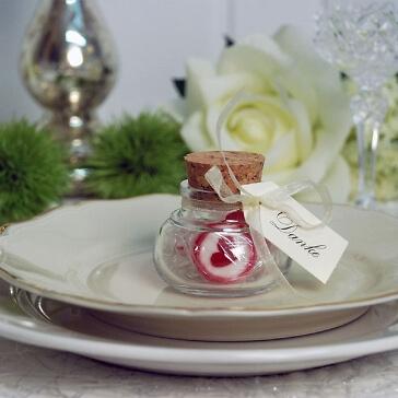 Korkenglas für Gastgeschenke
