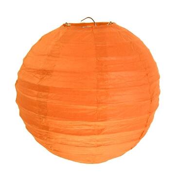 Lampions-rund-orange