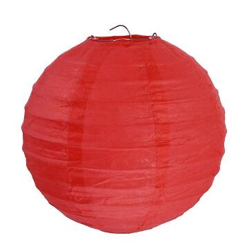 Lampions-rund-rot
