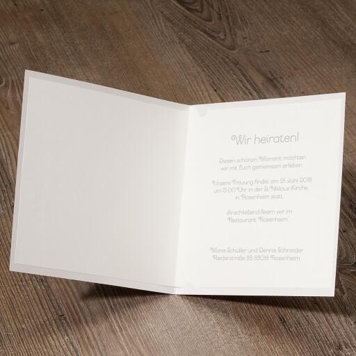 Hochzeitseinladung Jana Design II ...