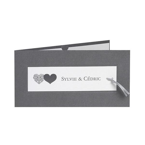 Einladungskarte Cecile · Hochzeitseinladung Cecile
