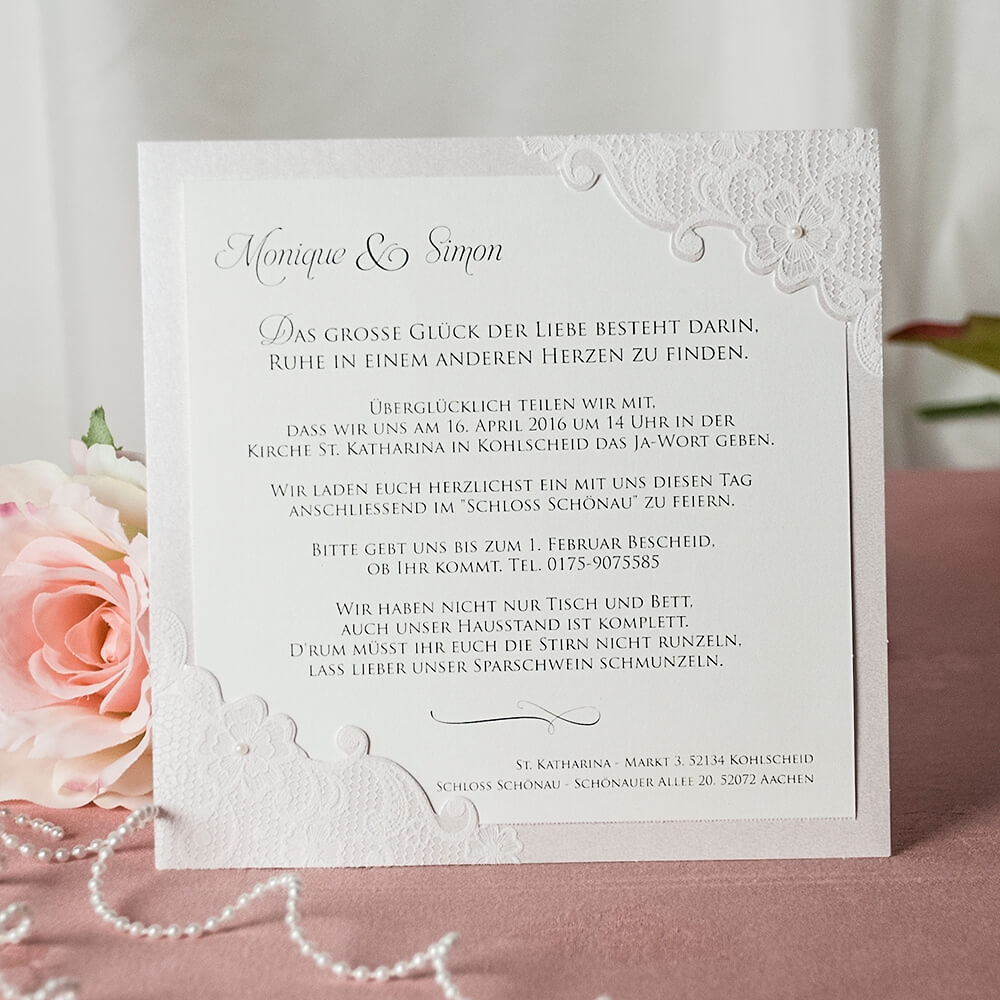 Besondere Hochzeitskarten & Hochzeitseinladungen weddix