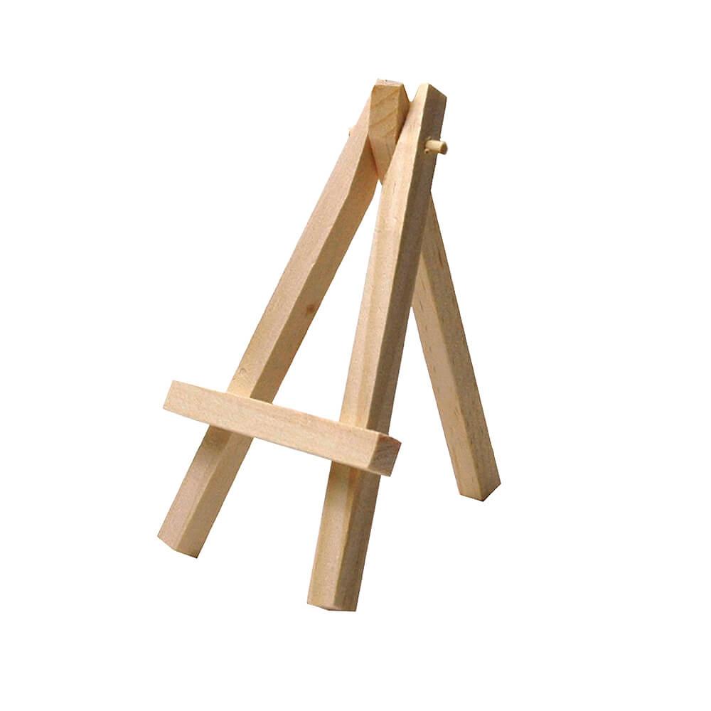 mini staffelei aus holz f r tischkarten 3 st. Black Bedroom Furniture Sets. Home Design Ideas