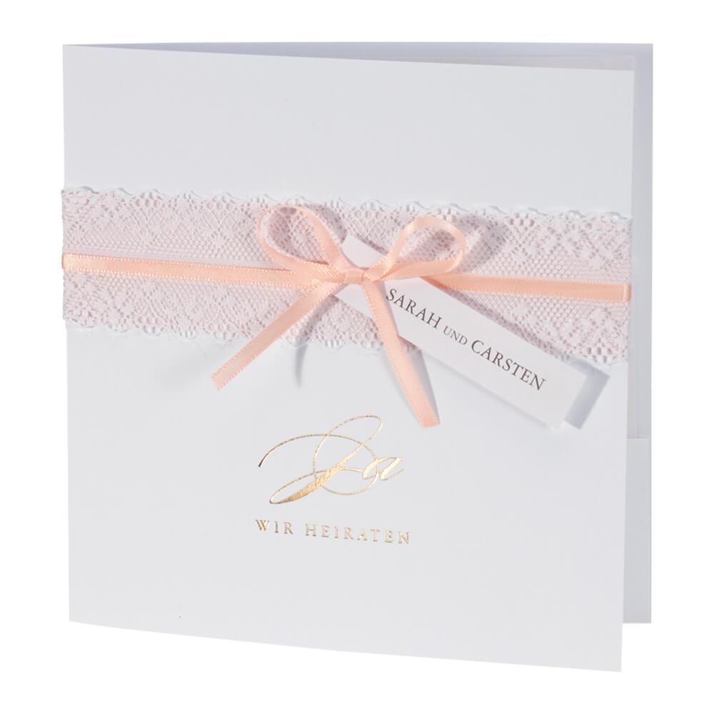 Hochzeitseinladung camille apricot hochzeitseinladung camille apricot innenansicht einladungskarte hochzeit