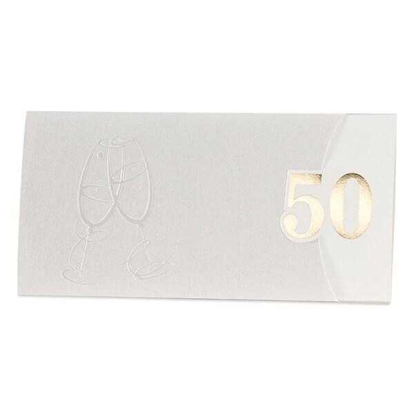 2 Gramm Geschenkbarren Flipmotiv 50 Jahre Geburtstag Goldene Hochzeit