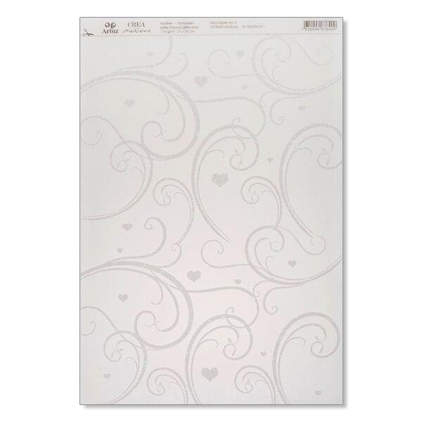 Transparentpapier Lettre D Amour Fur Hochzeitskarten Weddix De