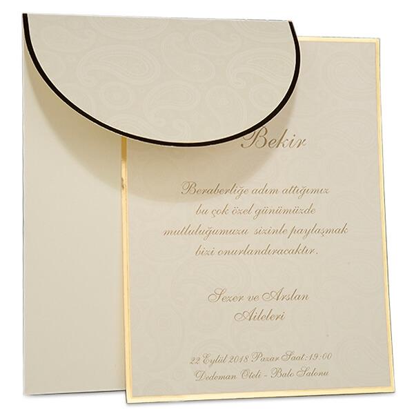 Einladungskarte Hochzeit Evita 2 ...