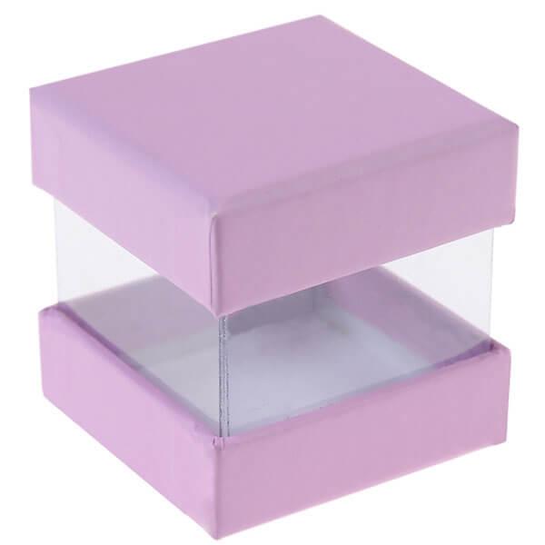 faltschachtel pure flieder 6 st s e kartonage f r. Black Bedroom Furniture Sets. Home Design Ideas