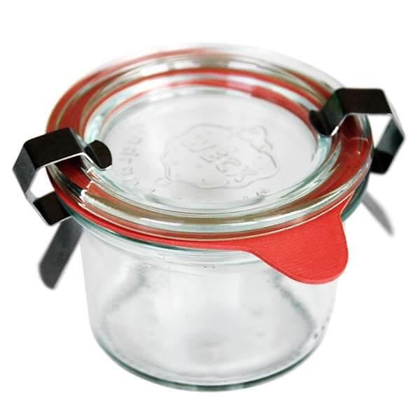 tolles gastgeschenk f r die hochzeit einweckglas mit ring. Black Bedroom Furniture Sets. Home Design Ideas