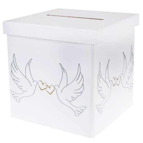 Geschenk Briefbox Taubenpaar Susse Geschenkbox Mit Taubenmotiv