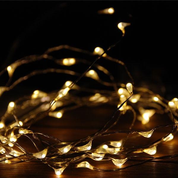 Tisch Lichterkette Fur Ihre Hochzeitsdekoration Weddix De
