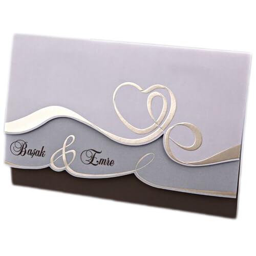 Hochzeitseinladung Nara Hochzeitskarte Mit Herz Weddix De