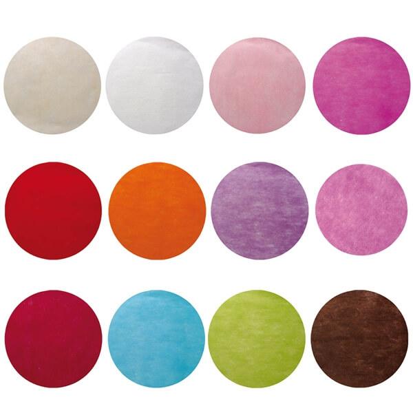 platzsets kreis rosa 50 tischsets f r hochzeitsdeko. Black Bedroom Furniture Sets. Home Design Ideas