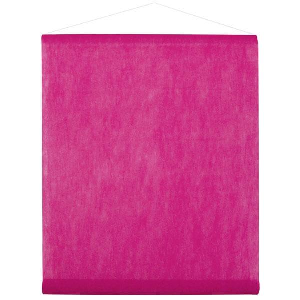 """Decke Farbe Fuchsia: Raumdeko """"Banner Vlies"""" Fuchsia"""