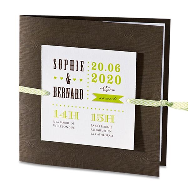Hochzeitseinladung In Braun Und Holzoptik Weddix De