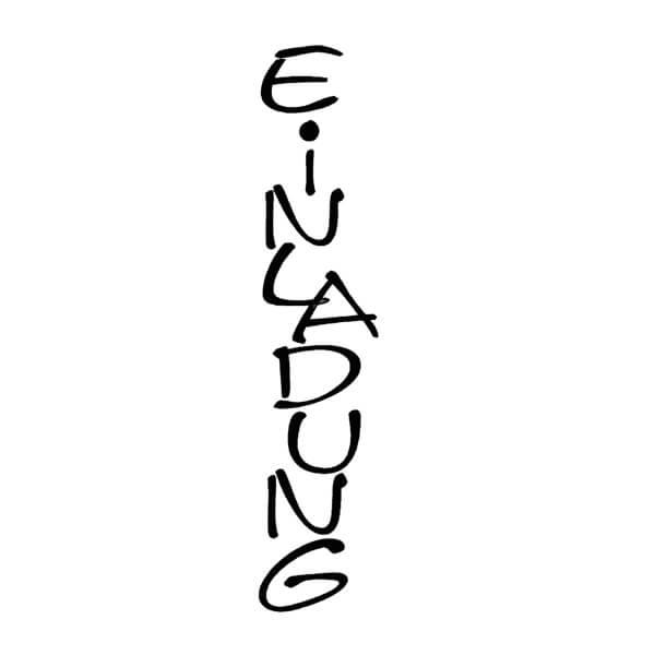 """individuelle einladungskarte mit stempel """"einladung"""" - weddix.de, Einladung"""