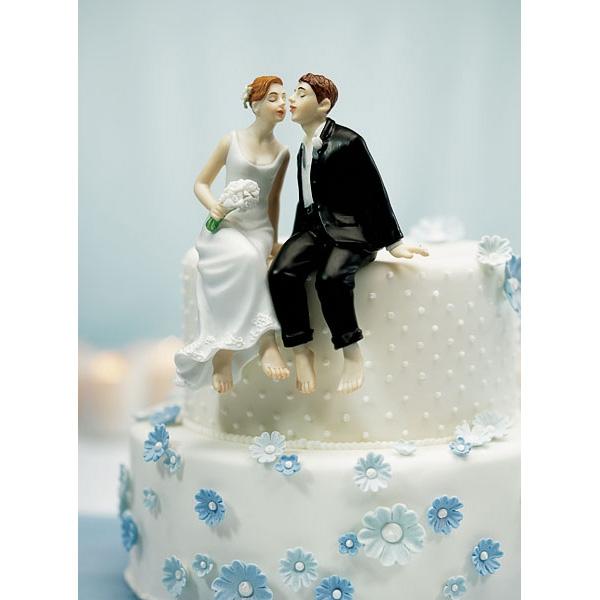 Tortenfigur Sitzendes Brautpaar Weddix De