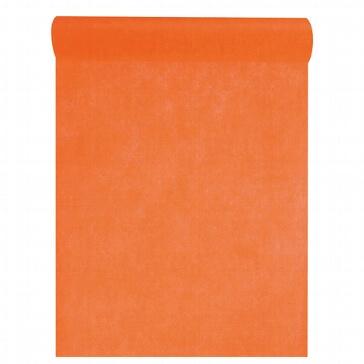 Tischläufer in Orange für die Hochzeitstafel