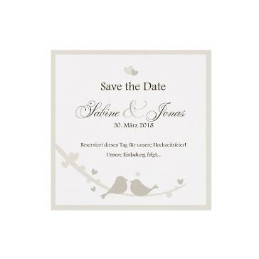 Save the Date oder Dankeskarte Leni