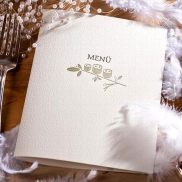 "Hochzeitskarte Letterpress ""Rosalie"""