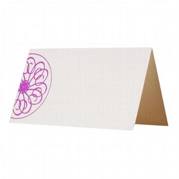 "Tischkarte Letterpress ""Circles"""