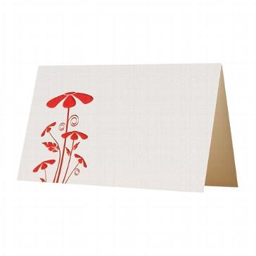 """Letterpress Tischkarte """"Hello my dear"""""""