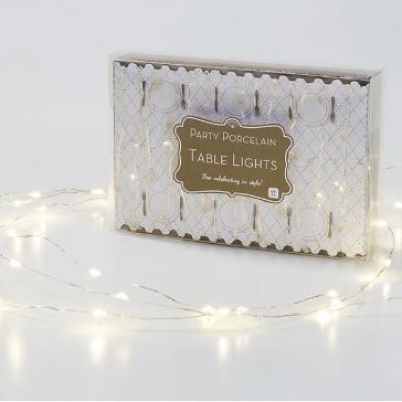 Hochzeitsdeko Lichterkette mit 60 LEDs
