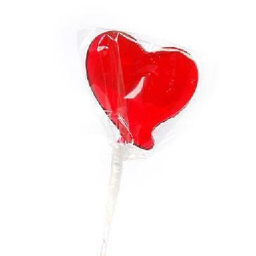 "Lolli ""From Heart"" - Lolli mit rotem Herz"