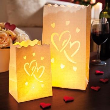 luminaria windlicht big love mix