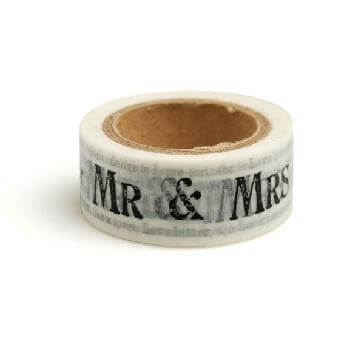 Papier-Masking Tape Mr & Mrs Newsprint 10 m