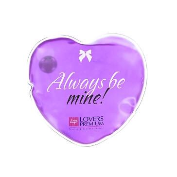 Massage-Herz Heiße Liebe, lila für erotische Massagen