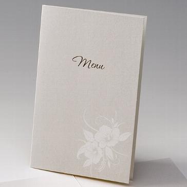 """Menükarte """"Agathe"""" für die Hochzeitsfeier"""