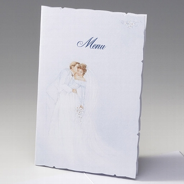 """Menükarte """"Hedwig"""" für Ihre Hochzeitsfeier"""