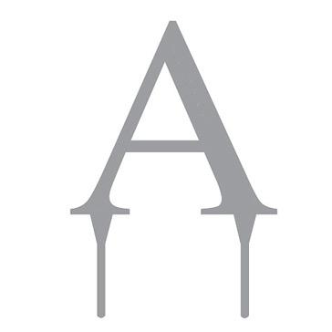 """Tortenfigur Monogramm """"A"""""""